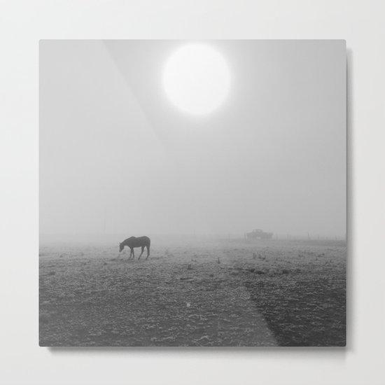 Penrose Fog Metal Print