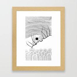Falling Down (4) Framed Art Print