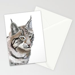 Lynx Cat Stationery Cards