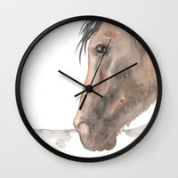 spanish Wall Clocks featuring Spanish by Bluedogrose
