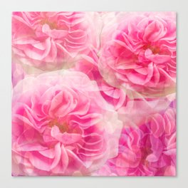 Roses In Pink Tones #decor #society6 #buyart Canvas Print