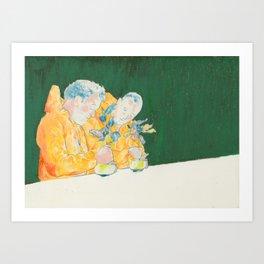 Lou Art Print