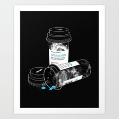 Space RX Art Print