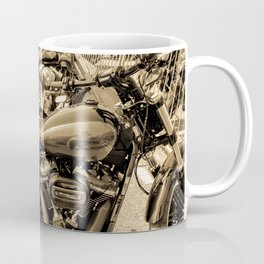 bikers day out - sepia Coffee Mug