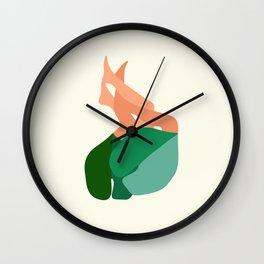 Towel&spoon Wall Clock