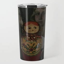 Book shelf nesting doll Travel Mug