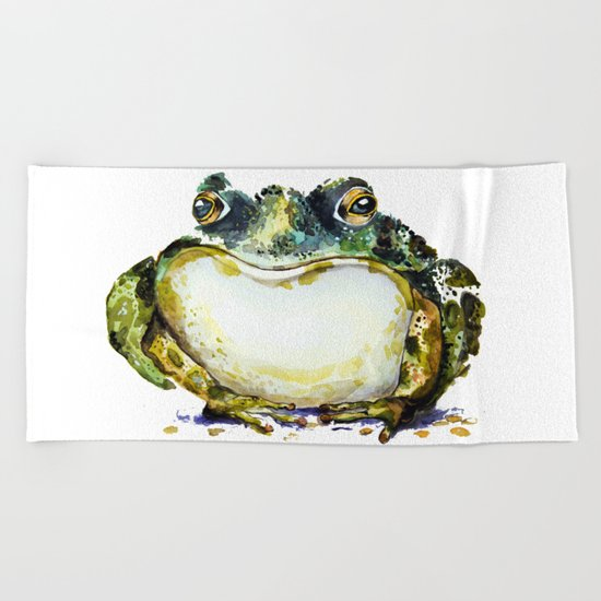 the toad Beach Towel