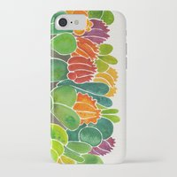 succulents iPhone & iPod Cases featuring Succulents by Cat Coquillette