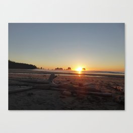 Washington Sunset Canvas Print
