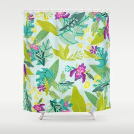 Tropical Retreat Shower Curtain