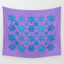 White Winter Hymnal Wall Tapestry