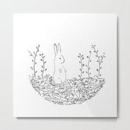 conejo Metal Print