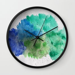clouded eyes. Wall Clock