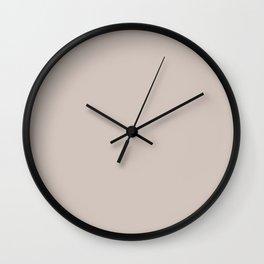 ANGORA neutral solid color Wall Clock