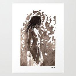 Unveil | Take 2 Art Print
