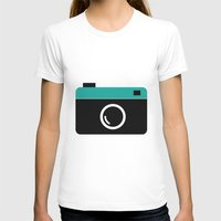 cameras T-shirts featuring cameras by Sahar