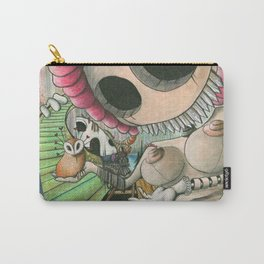 Beate & the hiding bush Carry-All Pouch