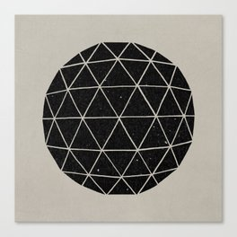 Geodesic Canvas Print