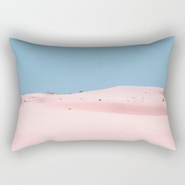 Pink Dunes Rectangular Pillow