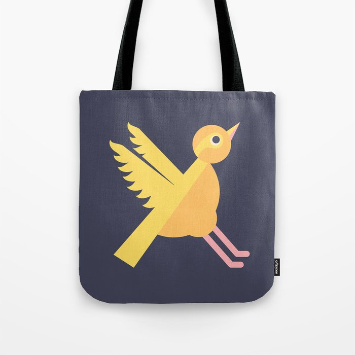 Letter X // Animal Alphabet // Xenops Monogram Tote Bag