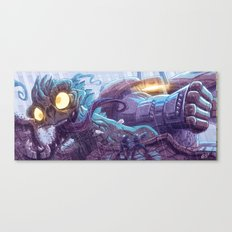 Kill All The Monsters! Canvas Print