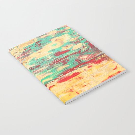 Wooden Pattern Notebook