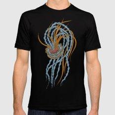 Jellyfish MEDIUM Mens Fitted Tee Black