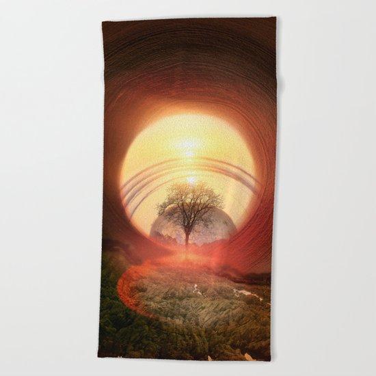 The Gate Beach Towel