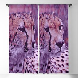 popular Animals - Cheetah Blackout Curtain