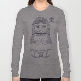 Blueprint X Matryoshka / Nesting Doll Long Sleeve T-shirt