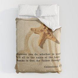 Colossians 3:17 Comforters