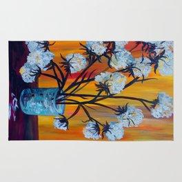 Bouquet of Cotton Rug