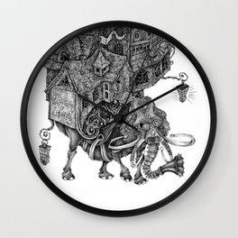 the wandering library 2 Wall Clock