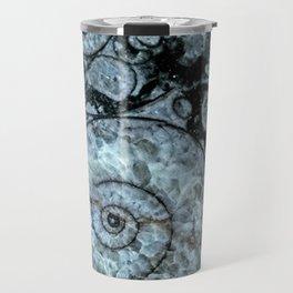 Goniatite Ammonite Travel Mug