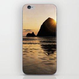 Cannon Beach haystack iPhone Skin