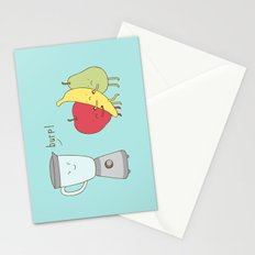 sick blender Stationery Cards