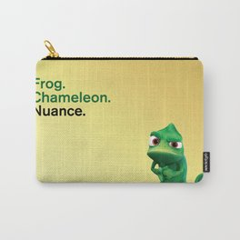 Nuance - Tangled - Gold Carry-All Pouch