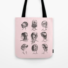 Hairstyle Typology Tote Bag