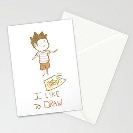 I like to DRAW Stationery Cards