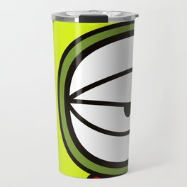Moon Goddess with Coffee Leaf Eye-lash [Spa Ixchel] Travel Mug
