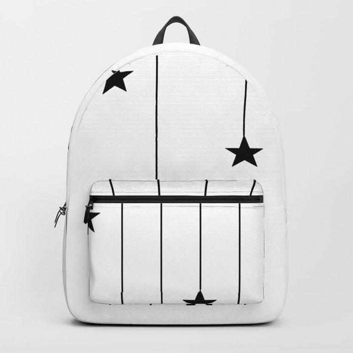 Hang The Stars (In Black and white) Backpack