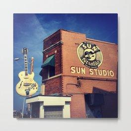 Sun Studio Records Metal Print
