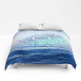 Sea Mandalla Comforters