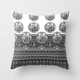 Medallion Love Throw Pillow