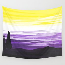 Non Binary Sky Wall Tapestry