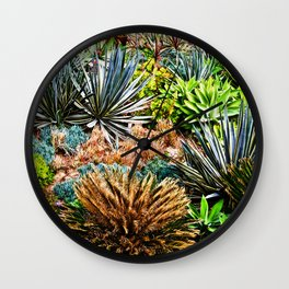 Modern Beach Life Wall Clock