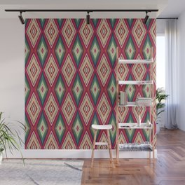 Etnic triangle Wall Mural