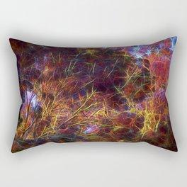 abstract tree Rectangular Pillow