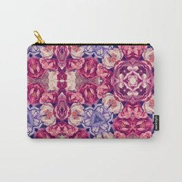 berry floral Carry-All Pouch