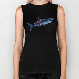 Shark in a Shirt Biker Tank